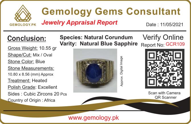GCR109 1 natural gemstones pakistan + 925 silver jewelry online