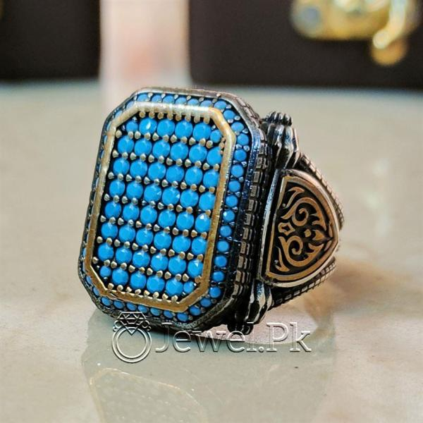 925 Silver Turkish Ring - Luxury Jewelry