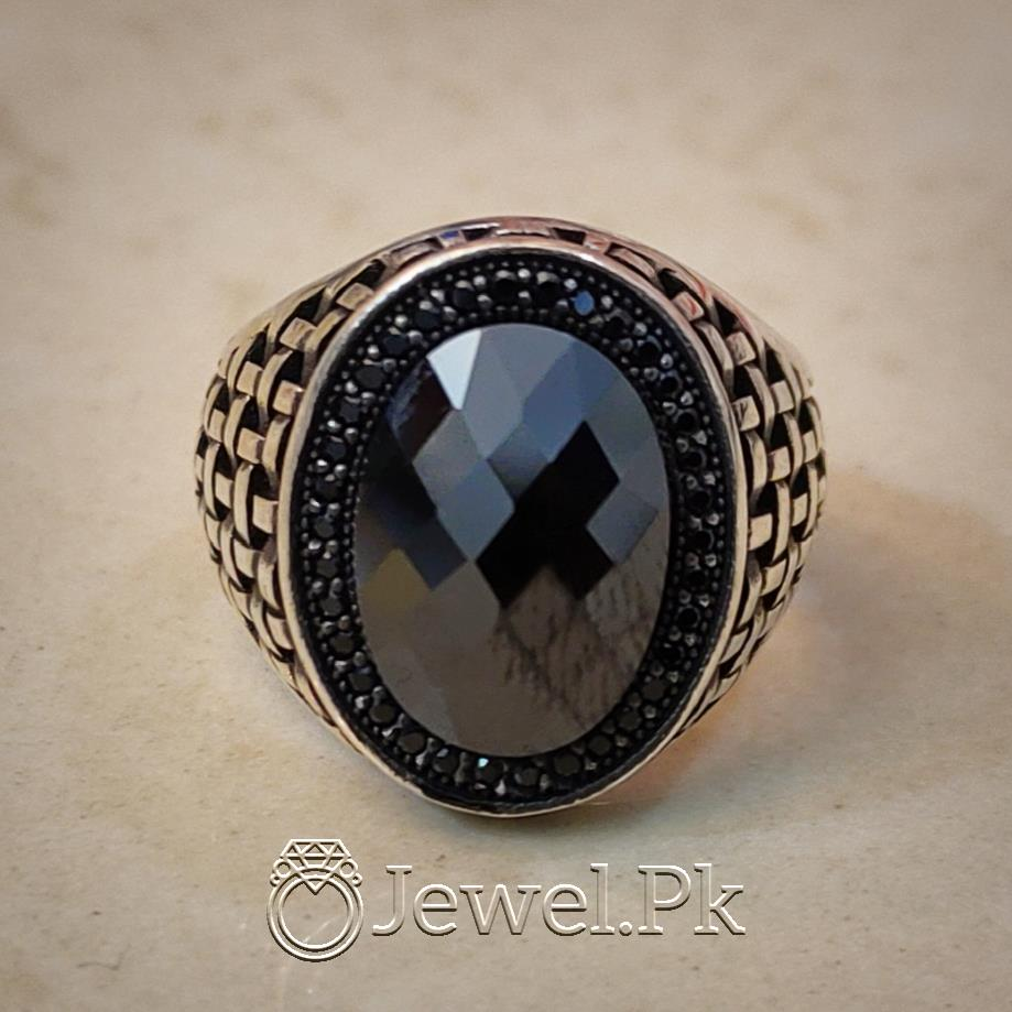 Turkish Rings 925 Silver Handmade Imported Ottoman Rings Pakistan 3 natural gemstones pakistan + 925 silver jewelry online