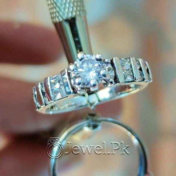 Silver 925 Women Ring - Italian ring for ladies.