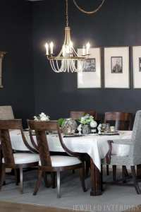 Formal Dining Room Reveal- Jewel Marlowe's Dramatic Before ...
