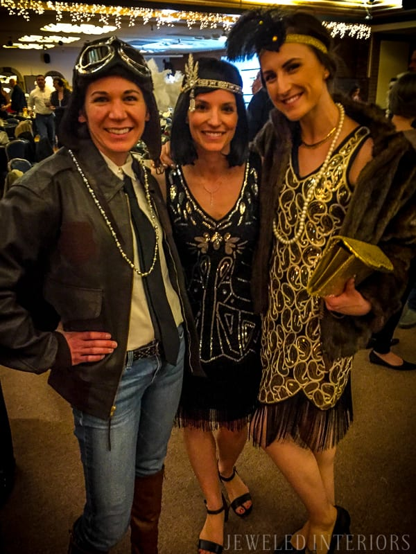 Need roaring decorating ideas for your 1920's Party?  Check this out!   halloween, dress-up, costume, speakeasy, speak, easy, sequins, bar, tommy gun, cigars, flapper, prohibition, charity,  fundraiser, fund, raiser, money, auction, OSC, OCSC, Officers', Gatsby Spouses', club, military, scholarships, feather, ostrich, boa, fringe