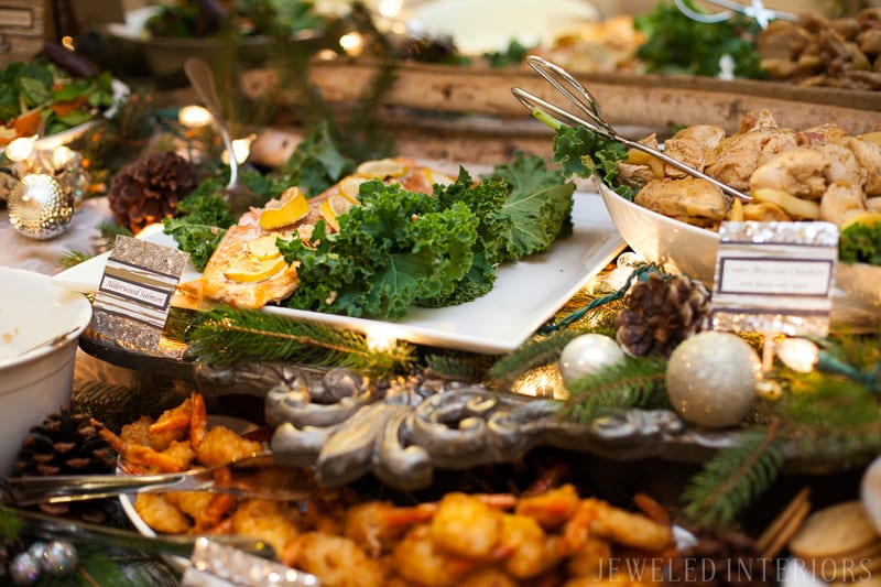 YOU HAVE TO SEE THIS NATURE INSPIRED HOLIDAY PARTY