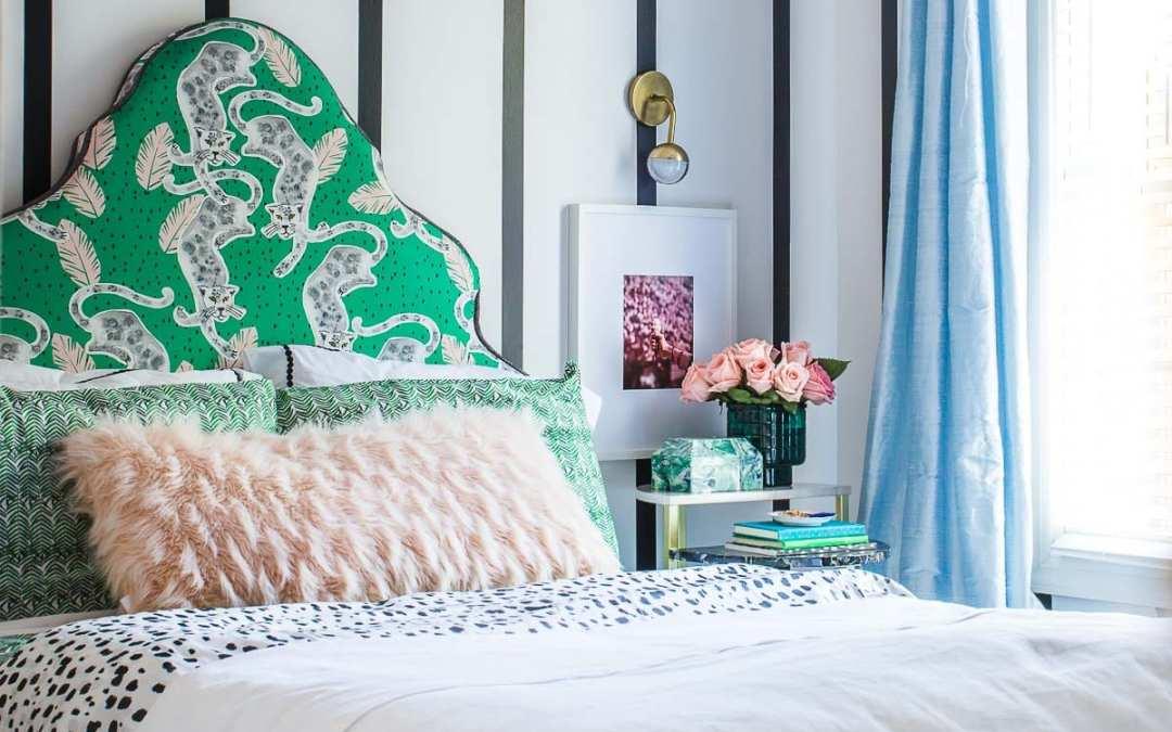 Girl's Bedroom Big Reveal! Just in Time for The Color Splash Blog Hop