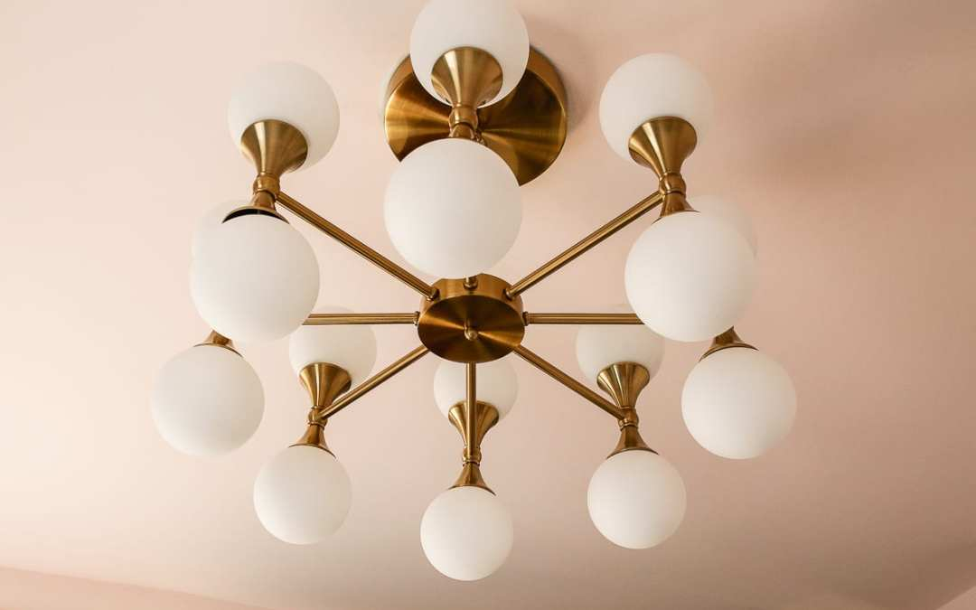 Brass Chandelier Round-up and Girl Bedroom Updates