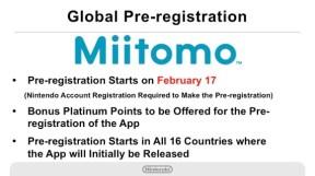 Miitomo Pre-Registration