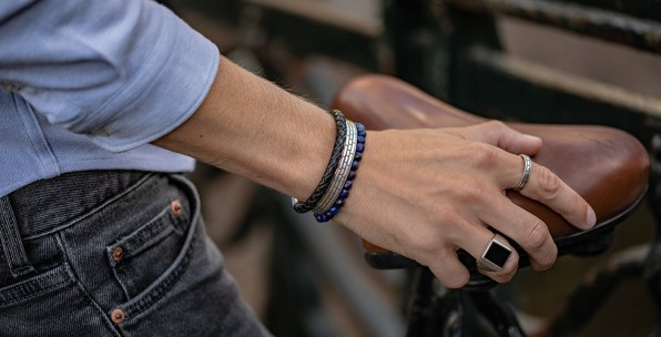 Prins. Jewelry for men, from Amsterdam