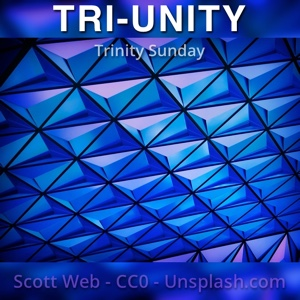 Abstract Triangles (emblematic of the Trinity)