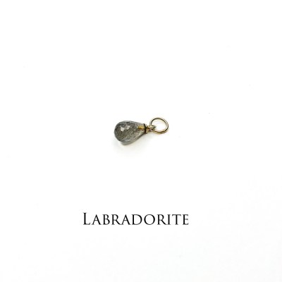 energi vedhæng med labradorite