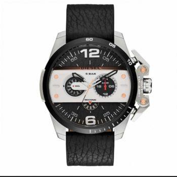 Diesel Men's Ironside Chronograph Leather Men's Watch – DZ4361