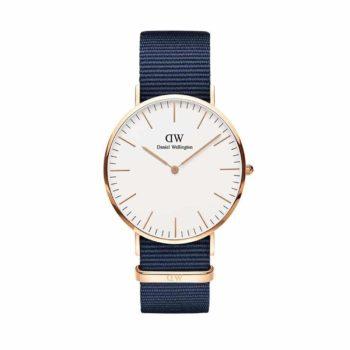 Daniel Wellington Classic Bayswater Rose Gold Men's Watch – DW00100275