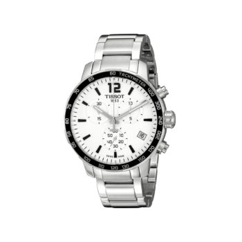 Tissot T-Sport Quickster Silver-Black Chronograph Men's Watch – T095.417.11.037.00