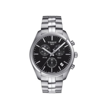 Tissot T-Classic PR100 Silver Chronograph Men's Watch – T101.417.11.051.00