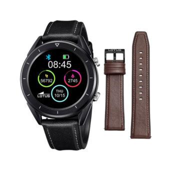 Lotus Smartime Black Men's Smartwatch – 50009/1