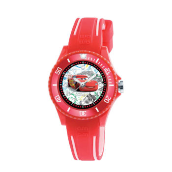 AM:PM Disney Red Rubber Strap Kids' Watch DP186-K476