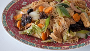recipe lo hon zai buddhas delight for chinese new year - Traditional Chinese New Year Food