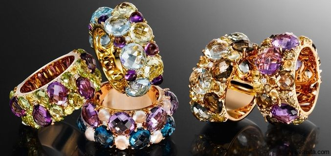 Custom Diamond and Gemstone Rings by Jewelry Designer