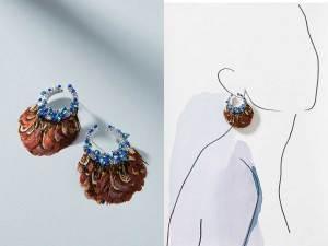 Lena Drop Earrings by Mignonne Gavigan, Runway Jewelry Trends 2019
