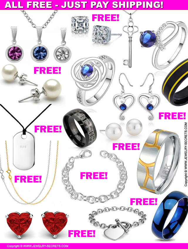 Free Jewelry Just Pay Shipping : jewelry, shipping, JEWELRY, SHIPPING!, Jewelry, Secrets