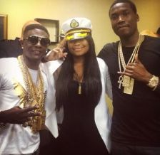 Karen Civil wearing her Gold MM Dog Tags