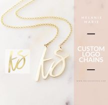 Custom logo chain
