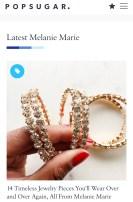 Melanie Marie featured in POPSUGAR August 2020
