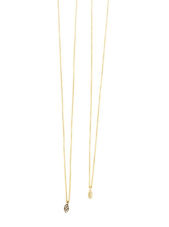 pave diamond gold oxidized silver delicate necklace