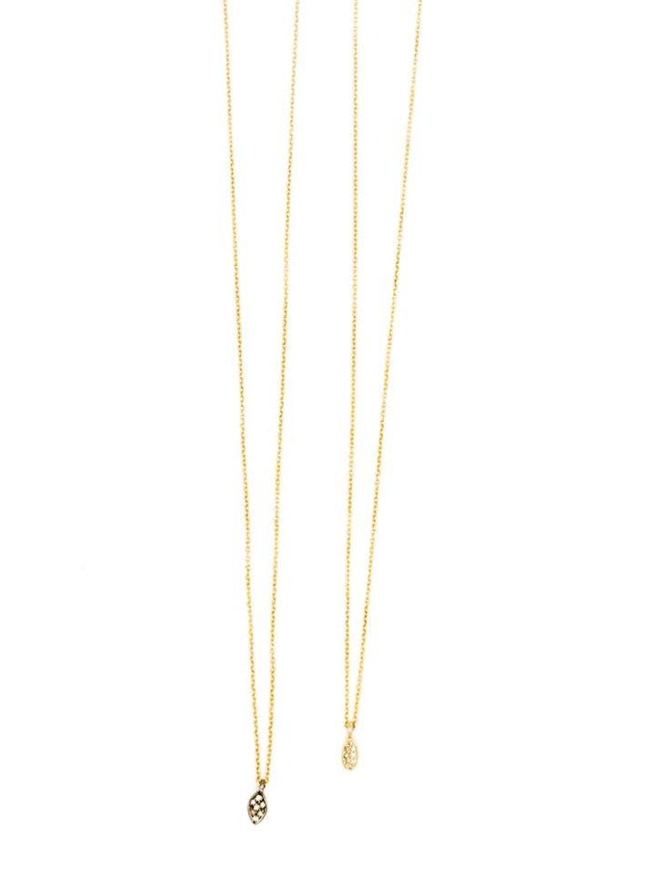 pave diamond gold oxidized silver delicate necklace