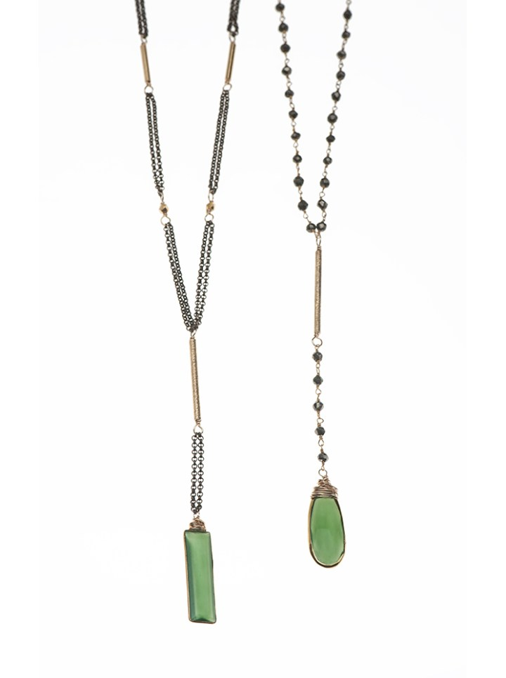 serpentine green stone y necklaces handcrafted jewelry