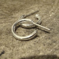 Small but mighty sterling silver hoop earrings - Jewelry ...