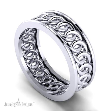 Circle Wedding Ring  Jewelry Designs Blog