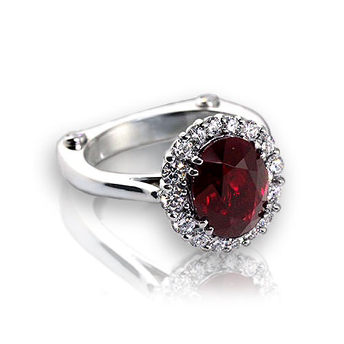 Image Result For Wedding Rings Ruby And Diamond
