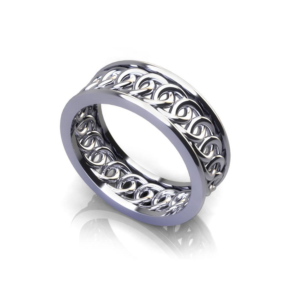 Interlocking Circle Wedding Ring  Jewelry Designs