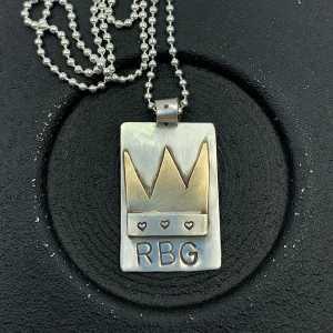 RBG Crown necklace