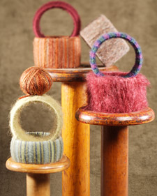 woolwrappedbangle