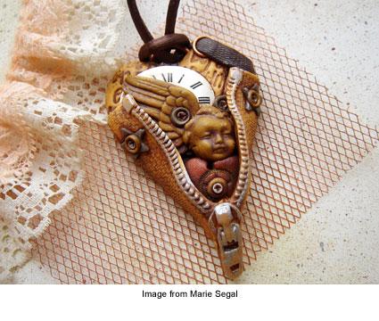 Marie Segal's pendant An Angel Inside