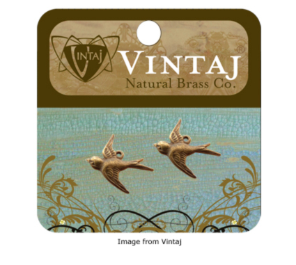 Charms available from Vintaj