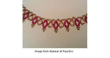 Netted necklace from Azareal