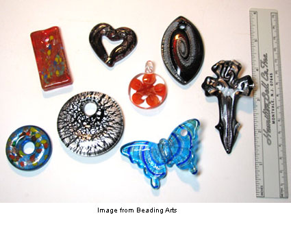Murano glass beads for giveaway