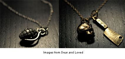 charms from Dear and Loved