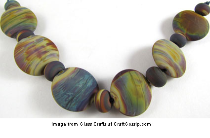 raku glass beads