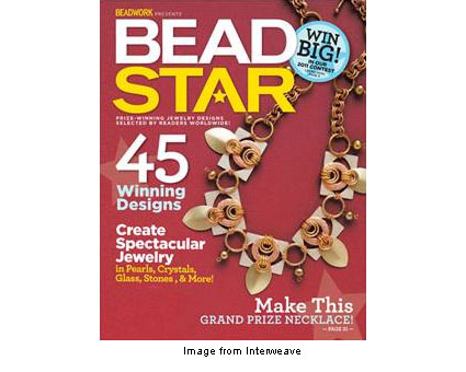 cover of Bead Star magazine from Interweave