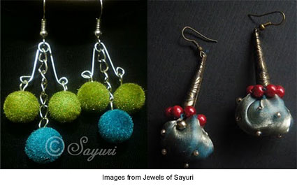 earrings from Jewels of Sayuri