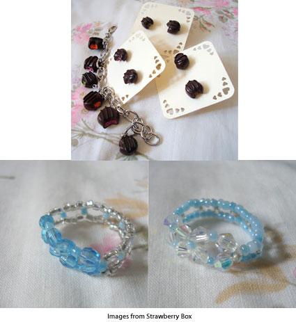 jewelry from Strawberry Box