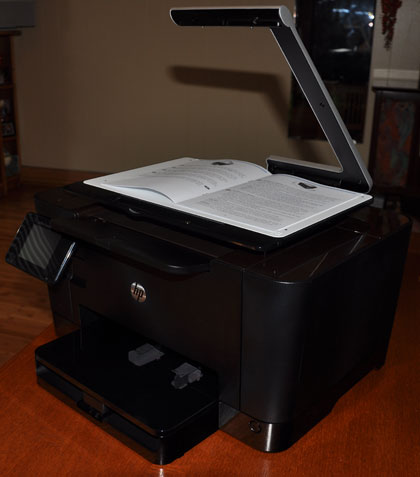 HP TopShot multi-function printer