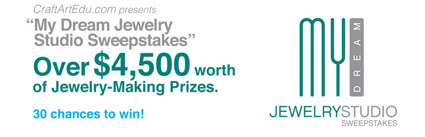 My Dream Jewelry Studio Sweepstakes
