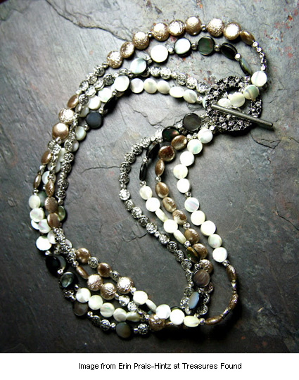 Erin's Toast of the Town necklace