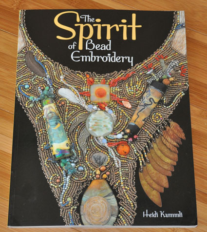 cover art for The Spirit of Bead Embroidery from Kalmbach Books
