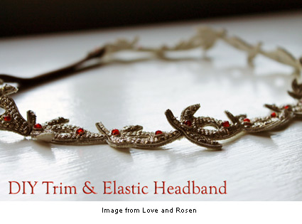elastic and trim headband from Arica at Love and Rosen