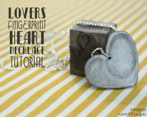 Double Fingerprint Heart